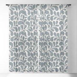 Beautiful Pattern #5 Floral Sheer Curtain