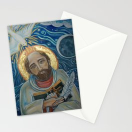 Saint John of the Cross' River of God (in the Dark Night of the Soul) Stationery Cards