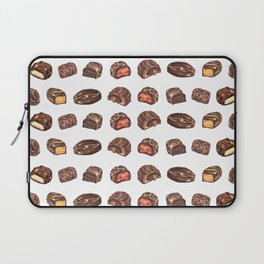Watercolor Chocolate Truffles Laptop Sleeve