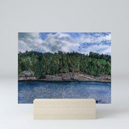 Ottawa River Mini Art Print