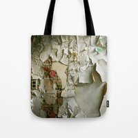 detroit Tote Bags featuring Detroit Kitsch by Riot Jane