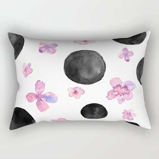 Flora dots Rectangular Pillow
