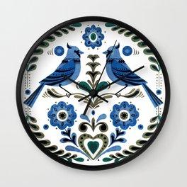 Vintage Blue Jays Wall Clock