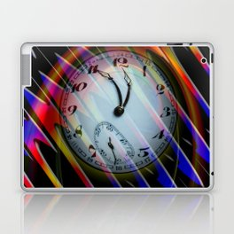 Abstract - Perfection- Time is running Laptop & iPad Skin
