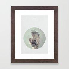 My city of ruins Framed Art Print