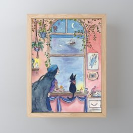 The Fortune Teller Framed Mini Art Print