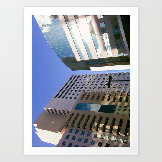Mirror Building Art Print