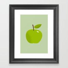 Apple 25 Framed Art Print