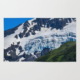 Whittier Glacier - 2 Rug
