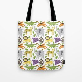 Kids Jungle Design Tote Bag
