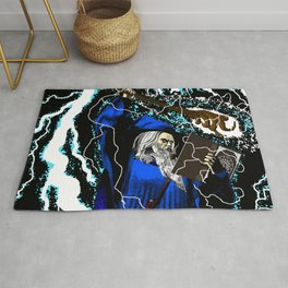 The Blue Wizard Rug