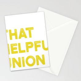 Union Strong and Solidarity  - Union Thug Stationery Cards