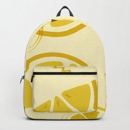Lemon Yellow Backpack
