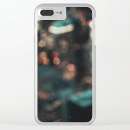 chicago II / unfocused city collection Clear iPhone Case