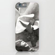 Black & White Rose Slim Case iPhone 6s