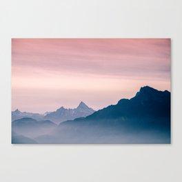 The Alps Canvas Print