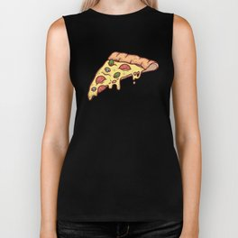 Pizza Time Biker Tank