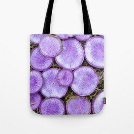 Purple Daikon Tote Bag
