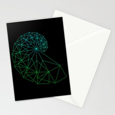 UNIVERSE GREEN Stationery Cards