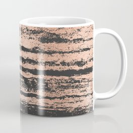 Marble Black Rose Gold - Never Mind Coffee Mug