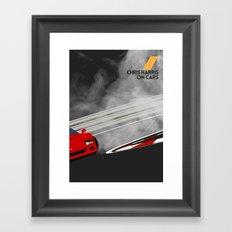 Drive - Chris Harris on Cars Framed Art Print