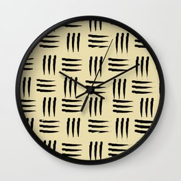 SCRATCHING THE SURFACE Wall Clock