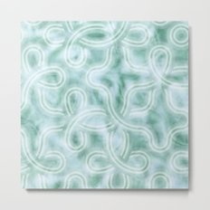 Knotty Abstract Metal Print