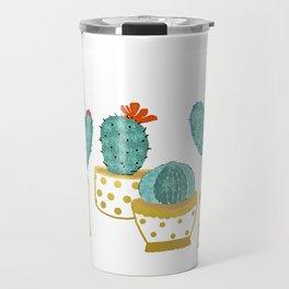 Cactus Garden || #society6artprint #decor Travel Mug