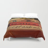 book Duvet Covers featuring book by gzm_guvenc
