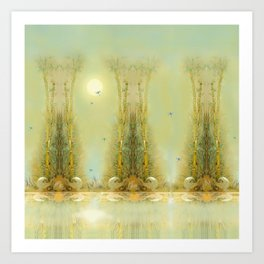 Bamboo Dream Art Print