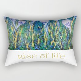 Rise of Life Rectangular Pillow