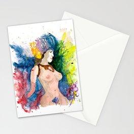 Mardi Gras Dancer 1 Stationery Cards