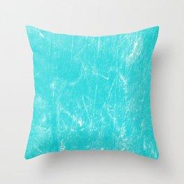 Sea Turquoise Throw Pillow