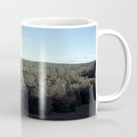camping Mugs featuring Camping by Nicholas Driver