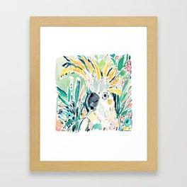 EDLOO the Cockatoo Framed Art Print