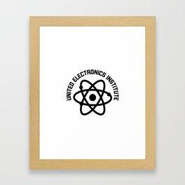 United Electronics Institute Framed Art Print