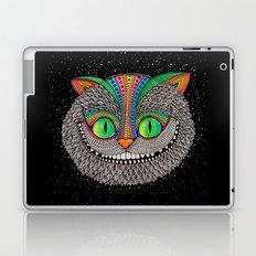 Alice in wonderland art fan by Luna Portnoi Laptop & iPad Skin