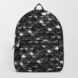 Black and White Scales Backpack