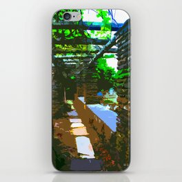 Painted Arch Way  iPhone Skin
