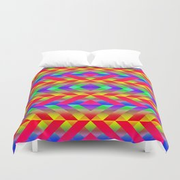 Rainbow Duvet Cover