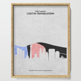 Lost in Translation Serving Tray