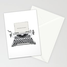 Just keep writing Stationery Cards