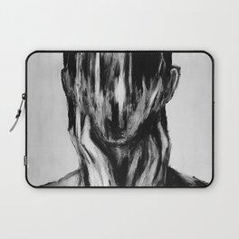 Surreal Distorted Portrait 03 Laptop Sleeve