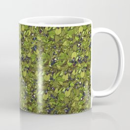 Blueberry Bushes Coffee Mug