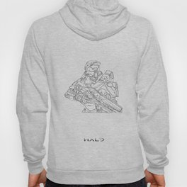 HALO Master Chief continuous line Hoody