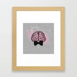 Right Brained? Framed Art Print