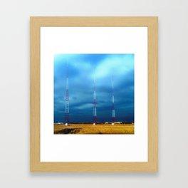 Sentinels Framed Art Print