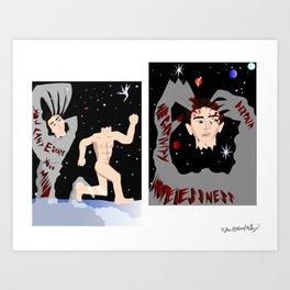 Depression Injection Art Print