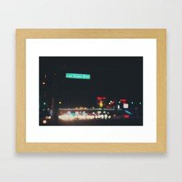 Las Vegas Boulevard ... Framed Art Print