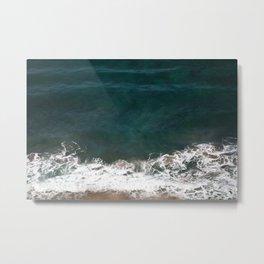 Wave Crash Metal Print